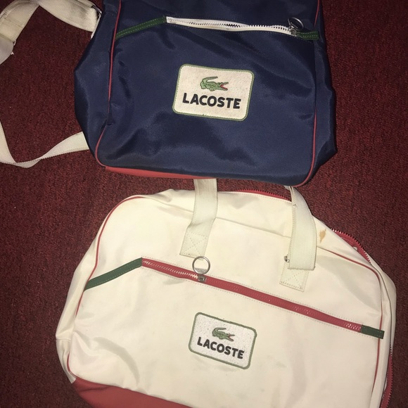 bfb8cd5caf3 Lacoste Bags | 2 For 80 Classic Duffle Bag Sports Gym | Poshmark
